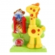 Kicking ball giraffe