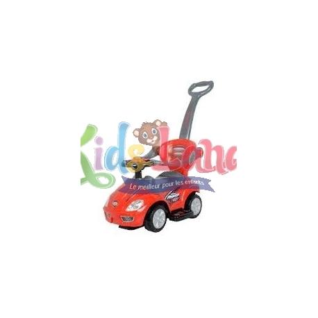 Porteur auto balade rouge