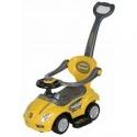 Porteur auto balade jaune